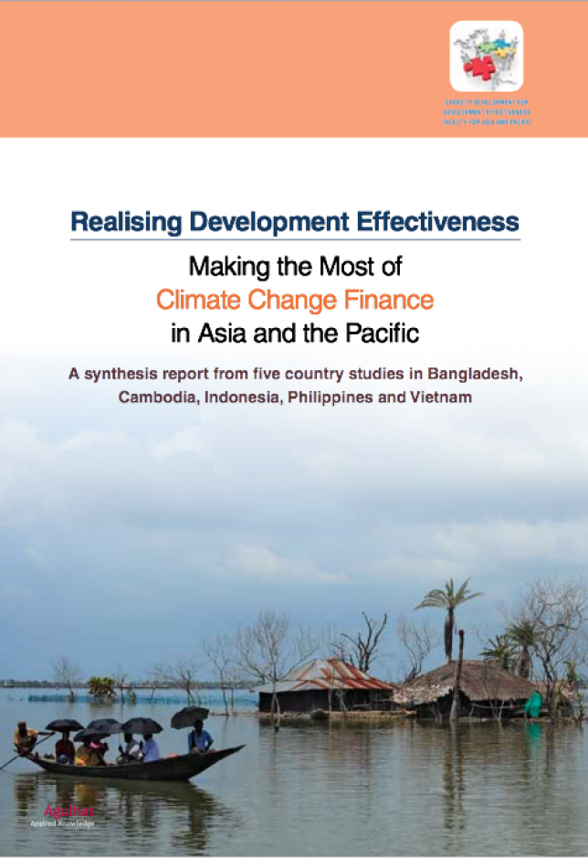 Image of UNDP's Making the most of Climate Change Finance in Asia and the Pacific Report