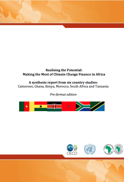 Realising the Potential: Making the Most of Climate Change Finance in Africa report front page
