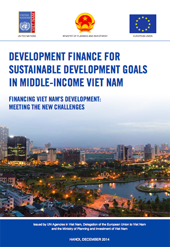 Development Finance For Sustainable Development Goals in middle-income Vietnam: report front page