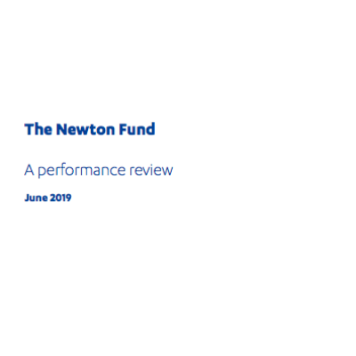 ICAI Newton Fund review front page