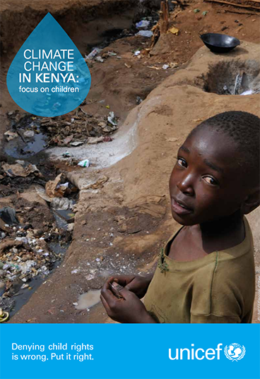 Unicef's Climate change in Kenya: focus on children report