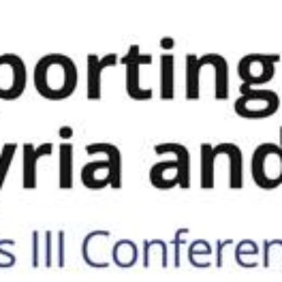 Supporting the future of Syria event logo
