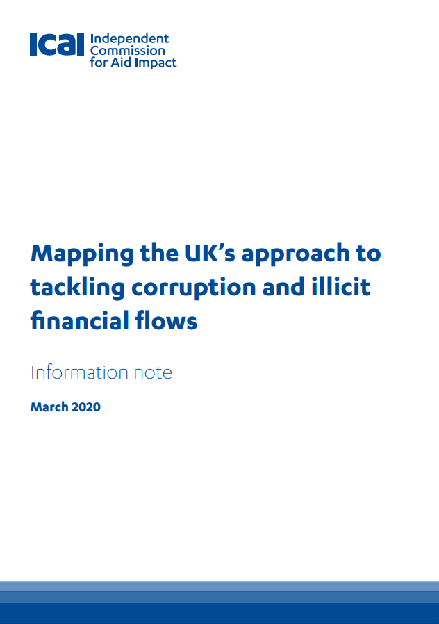 ICAI Mapping UK approach to ACIFF review front page