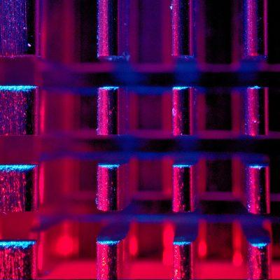 Abstract CPU up close