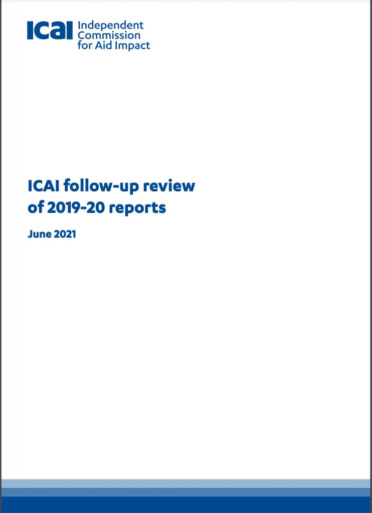 ICAI follow up report 2019-20