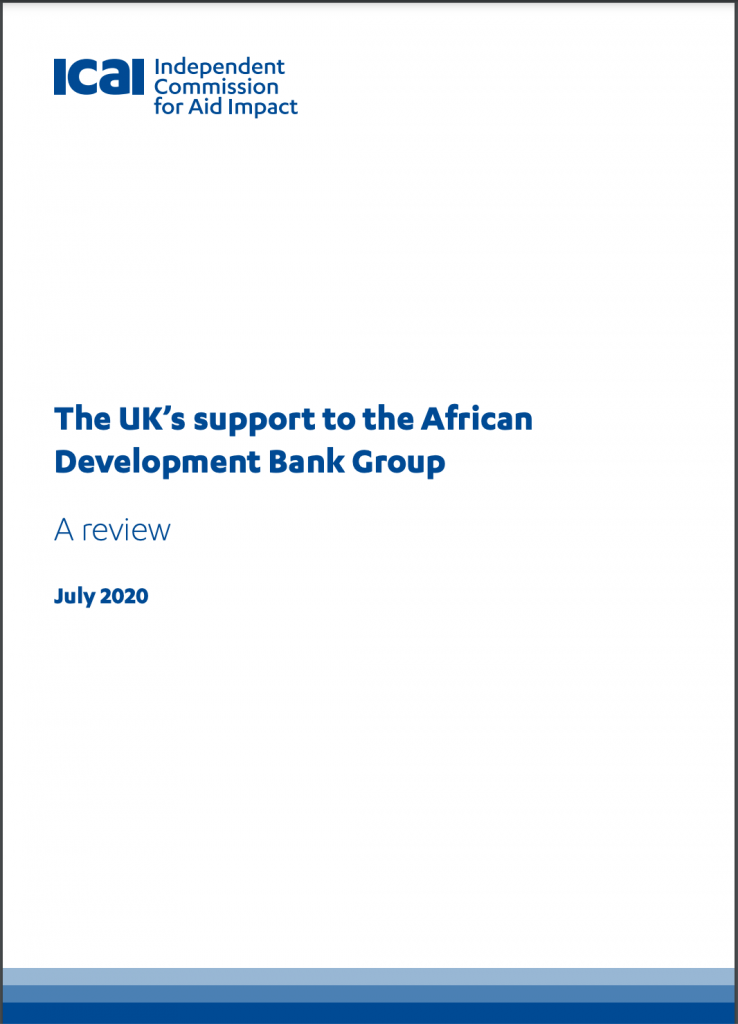 The UK's support to the African Development Bank Group
